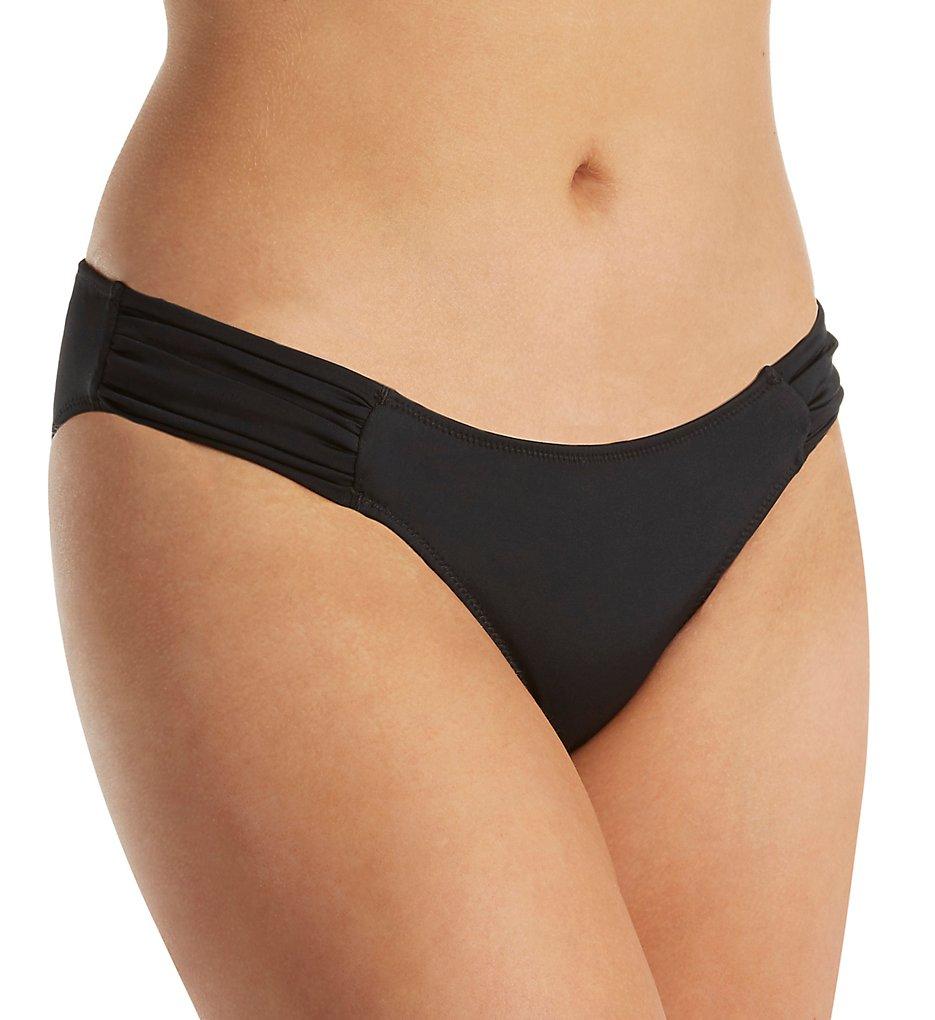 Smart and Sexy SA1006 Swim Secret The Knockout Bikini Swim Bottom (Black Hue)