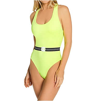 Smart and Sexy One Piece Swimsuit with Belt