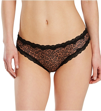 Smart and Sexy Lace Trim Cheeky Panty - 2 Pack