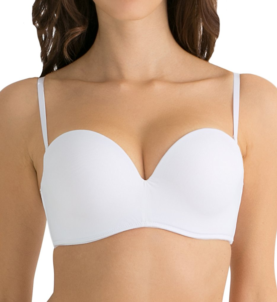Smart and Sexy - Smart and Sexy SA901 Smooth Multiway Add-1-Size Bra (White 34B)