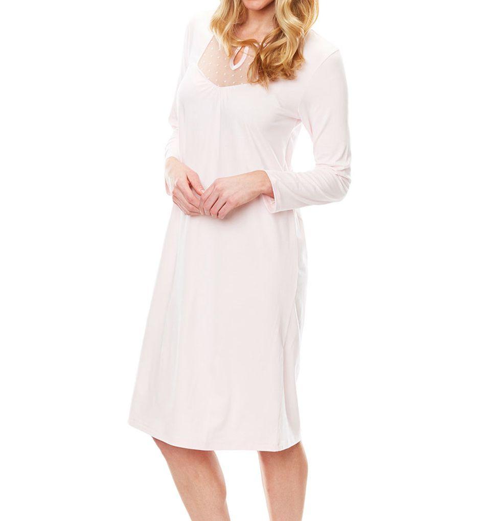 Softies by Paddi Murphy Dottie 3/4 Sleeve Short Gown