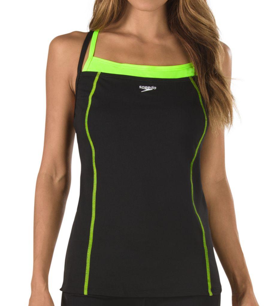 Speedo Endurance+ Double Strap Tankini Swim Top