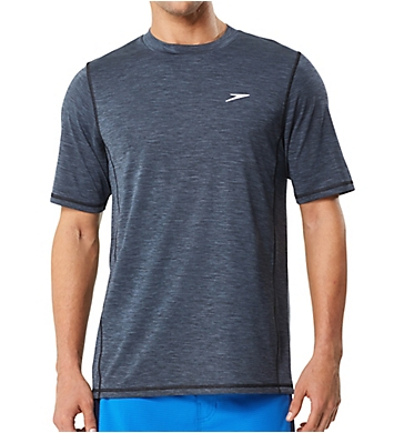 Speedo Space Dye Short Sleeve Swim Tee