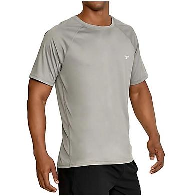 Speedo Easy Regular Fit Short Sleeve Swim Shirt