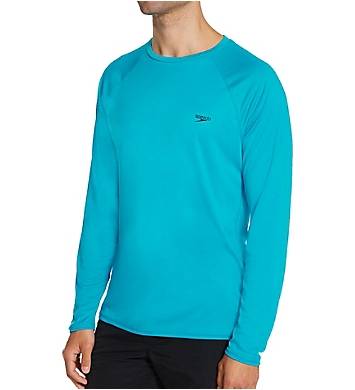 Speedo Easy Regular Fit Long Sleeve Swim Shirt