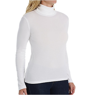 Splendid 1X1 Rib Long Sleeve Turtleneck