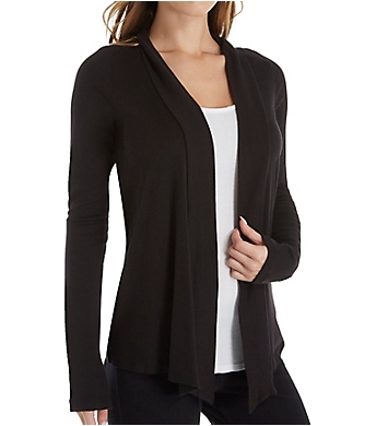 Splendid 1x1 Classic Long Sleeve Cardigan