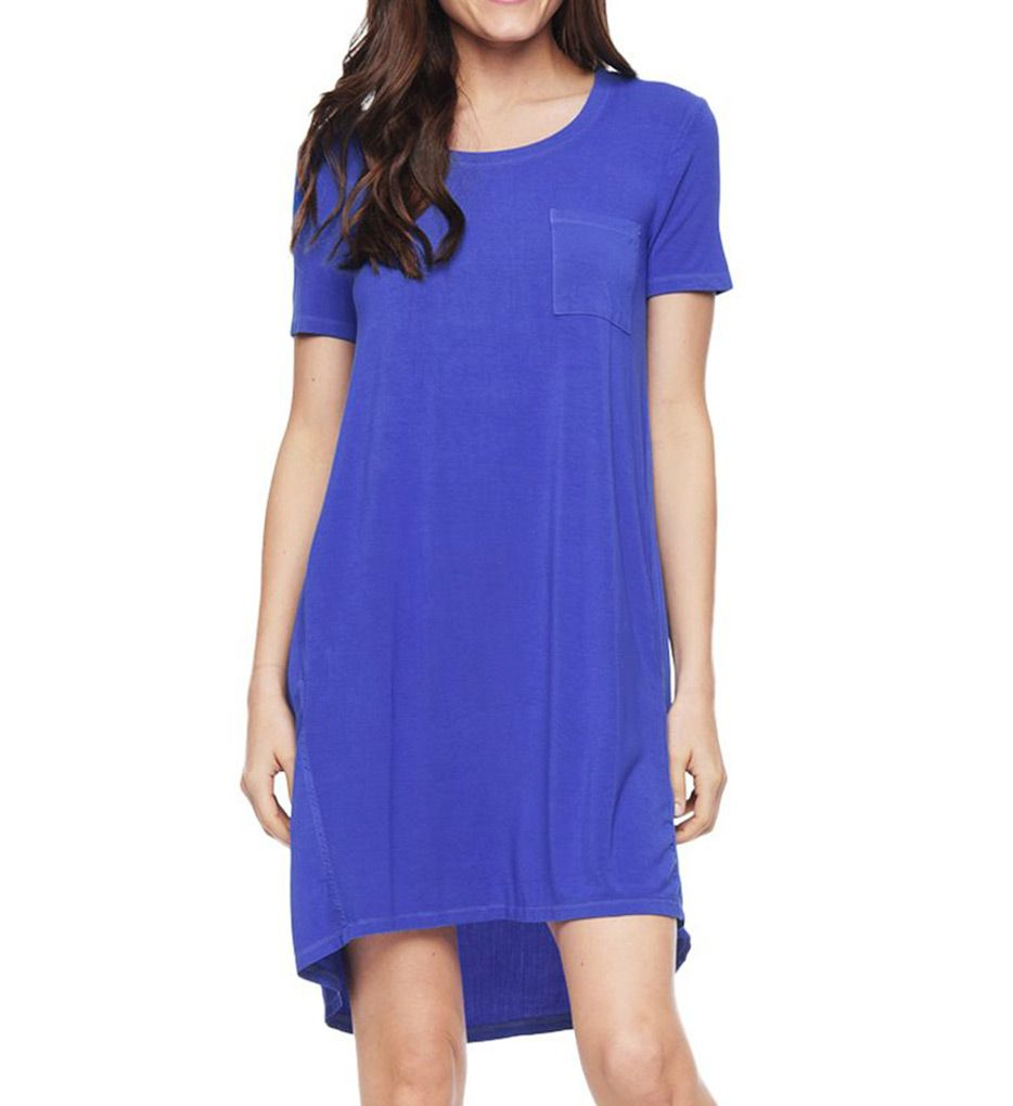 Splendid Rayon Jersey Short Sleeve Dress