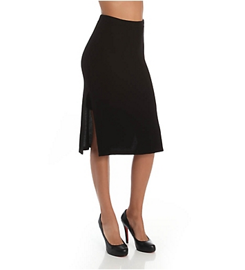Splendid Below The Knee Ribbed Pencil Skirt