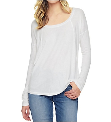 Splendid Light Jersey Open Back Tee