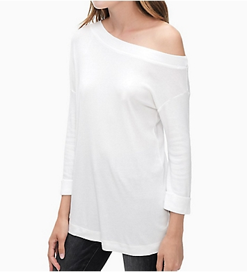 Splendid 1X1 One Shoulder Tunic Tee