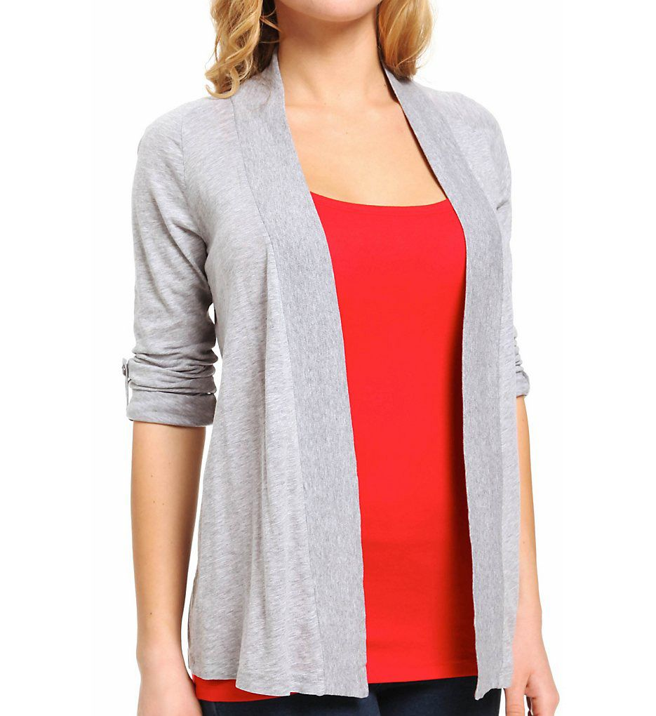 Splendid Very Light Jersey Shawl Collar Cardigan
