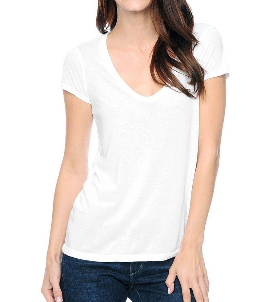 Very Light Jersey Scoop White - XL, Weiß Splendid