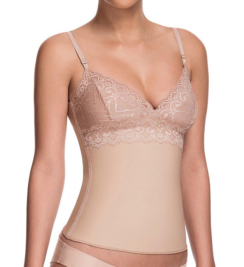 Squeem - Squeem 26AD Sensual Secret Shaping Camisole (Beige 1X)