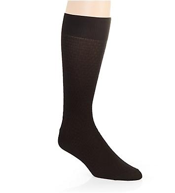 Stacy Adams Basket Weave Crew Dress Sock
