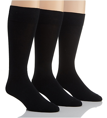 Stacy Adams Modern Cotton Crew Socks - 3 Pack