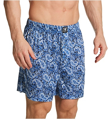 Stacy Adams Moisture Wicking ComfortBlend Fashion Boxer Short
