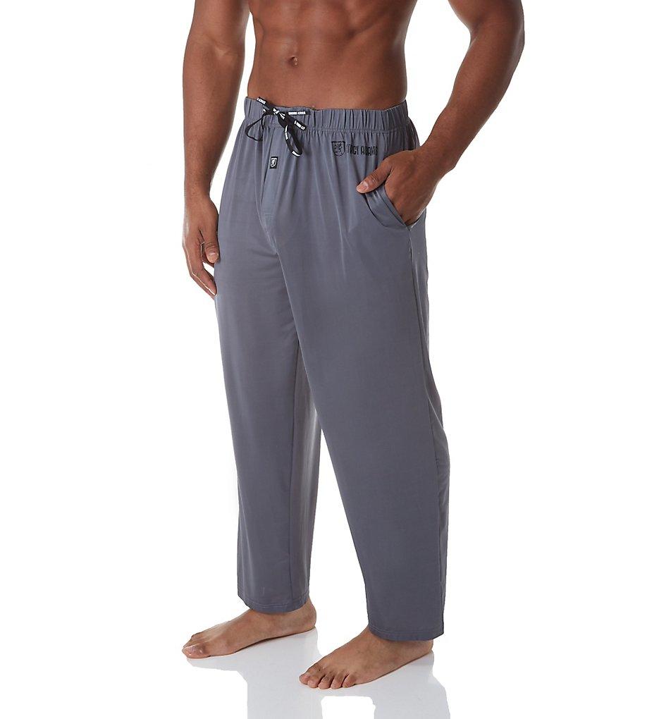 stacy adams sa6000 moisture wicking comfortblend lounge pant (gray 4xl)