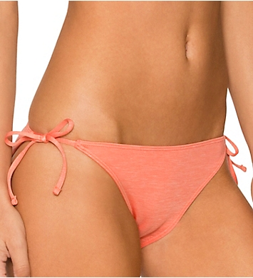 Sunsets Sun-Kissed Solid Tie Side Swim Bottom
