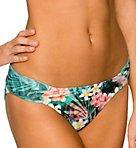 Tropical Oasis Side Shirred Swim Bottom