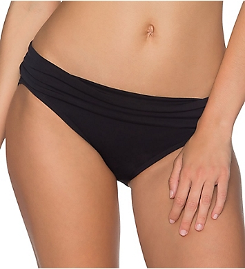 Sunsets Solid Unforgettable Fold Brief Swim Bottom
