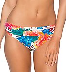 Fiji Flora Unforgettable Fold Brief Swim Bottom
