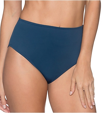 Sunsets Slate The High Road High Waist Brief Swim Bottom