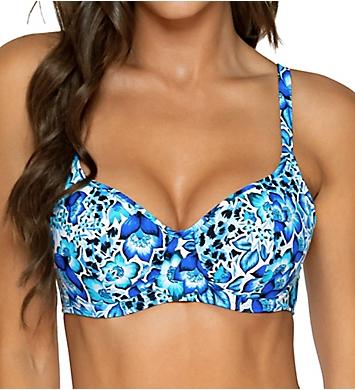 Sunsets Bay Blues Carmen Underwire Bikini Swim Top