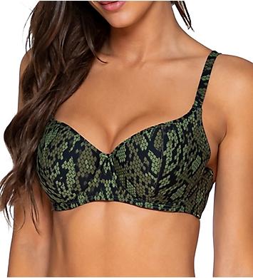 Sunsets Snake Charmer Carmen Underwire Bikini Swim Top
