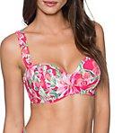Honolulu Lana Lace Up Underwire Swim Top