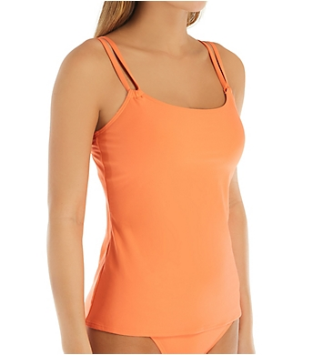 Sunsets Tropical Coral Taylor Tankini Swim Top