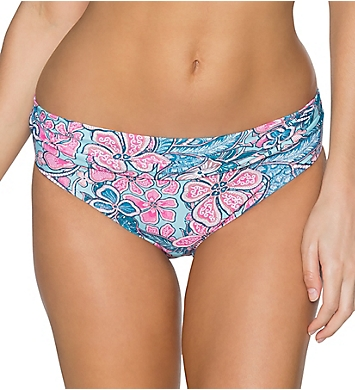 Swim Systems Love Bug Aloha Banded Brief Swim Bottom