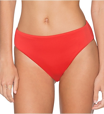 Swim Systems Paprika High Noon High Rise Brief Swim Bottom