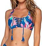 Tropical Punch Ahoy Halter Bikini Swim Top