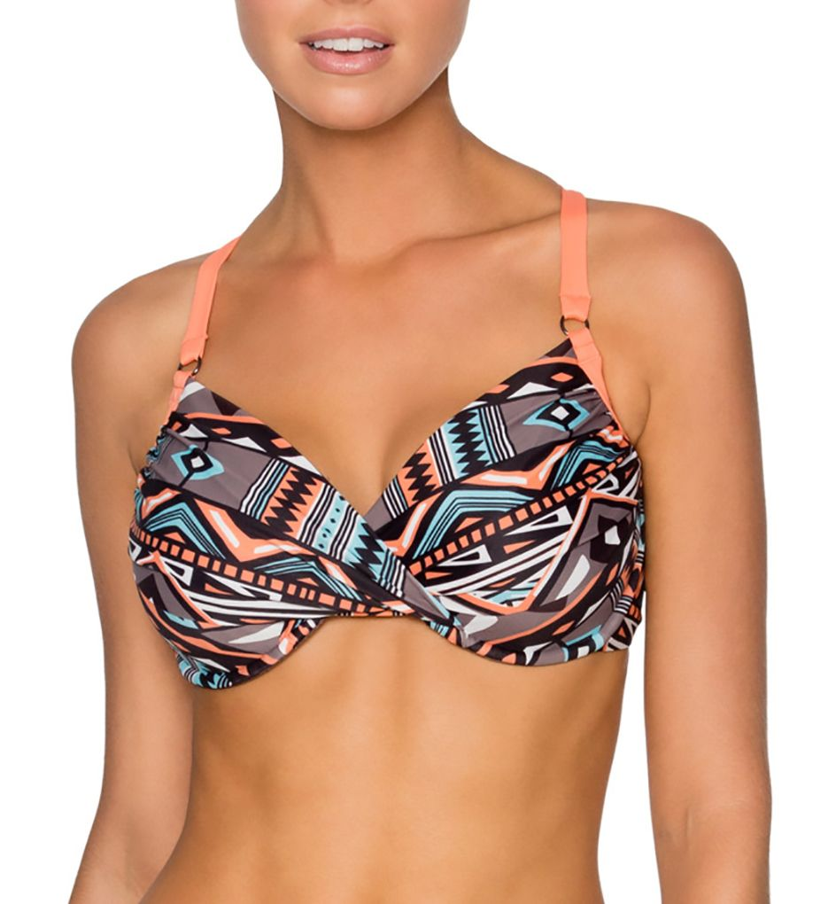 Swim Systems Arrowhead Crossroads Underwire Bikini Swim Top