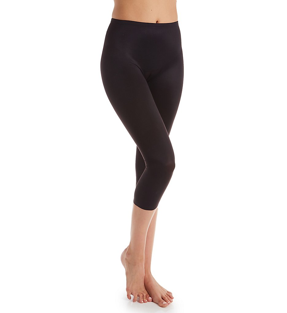 TC Fine Intimates - TC Fine Intimates 4172 adJUST Perfect Capri Pantliner (Black S)