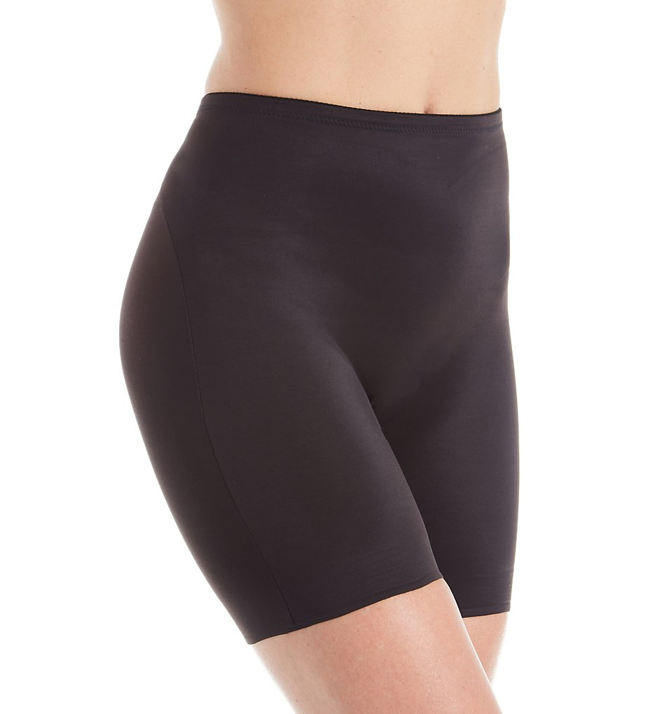 TC Fine Intimates - TC Fine Intimates 4176 adJUST Perfect Shaping Waistline Bike Short (Black S)