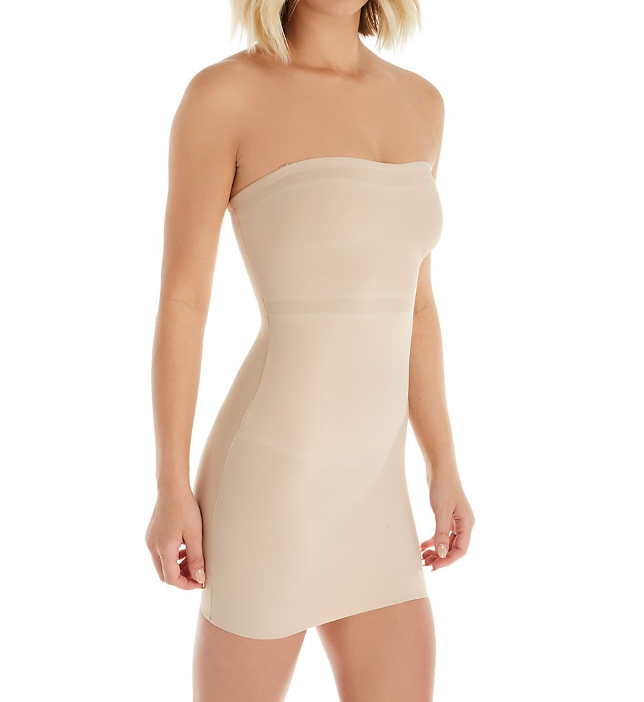 TC Fine Intimates : TC Fine Intimates 4703 Girl Power Strapless Shaping Slip (Nude S)