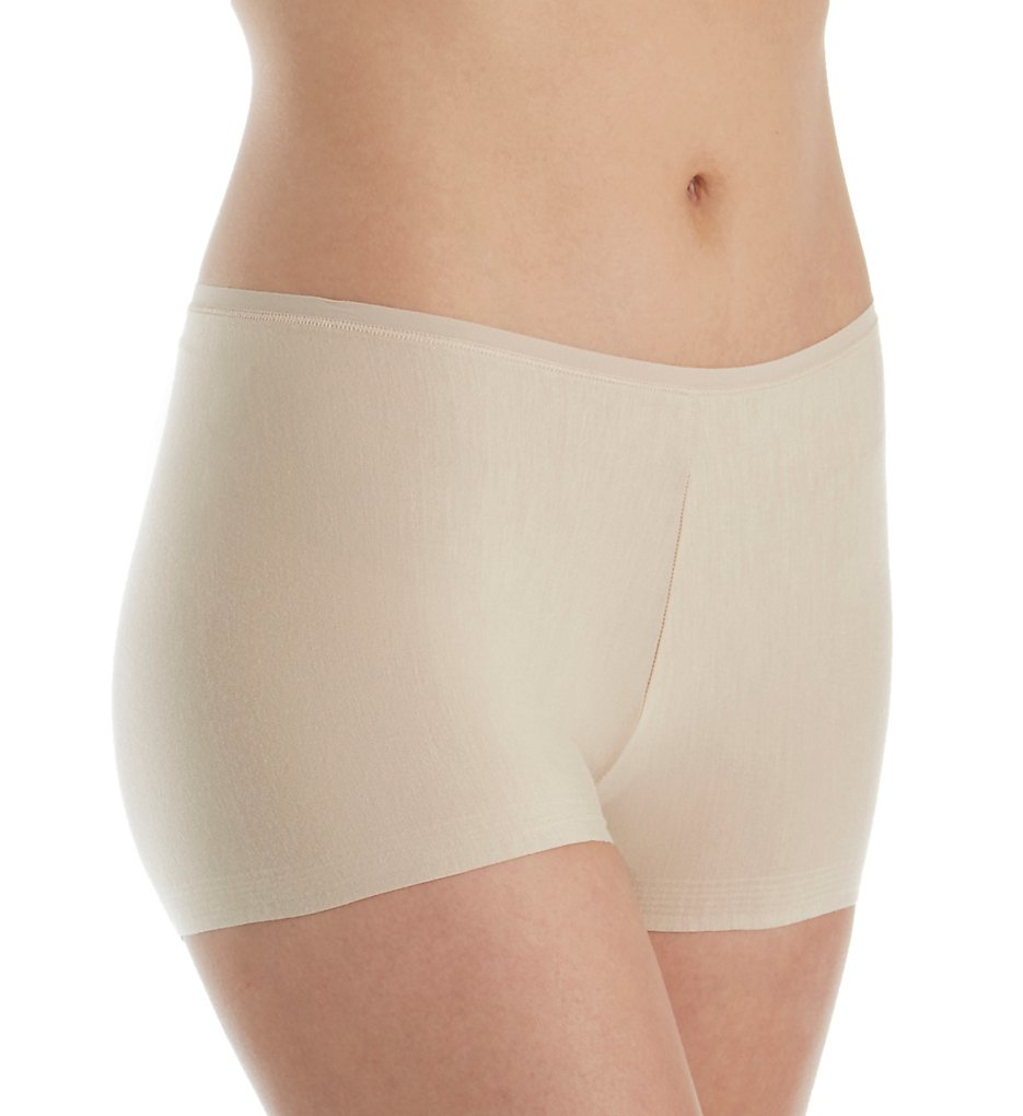 TC Fine Intimates : TC Fine Intimates A4-106 Comfort Modal Winning Edge Boy Short Panty (Nude L)