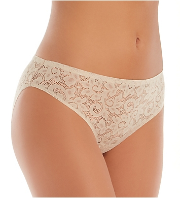 TC Fine Intimates Wonderful Edge All Over Lace Hipster Panty