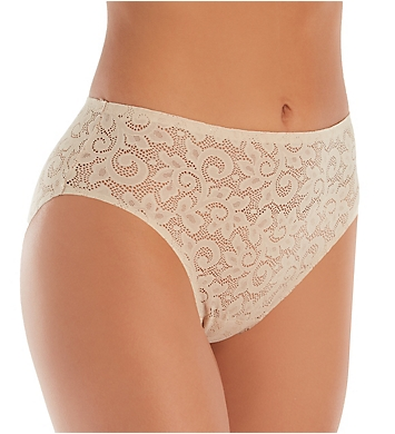 TC Fine Intimates Wonderful Edge All Over Lace Hi-Cut Panty