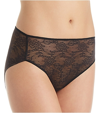 TC Fine Intimates All Over Lace Hi-Cut Brief Panty