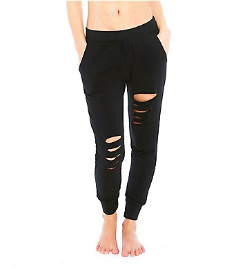 Terez Slash Leg French Terry Jogger