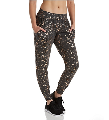 Terez Foil Printed French Terry Jogger