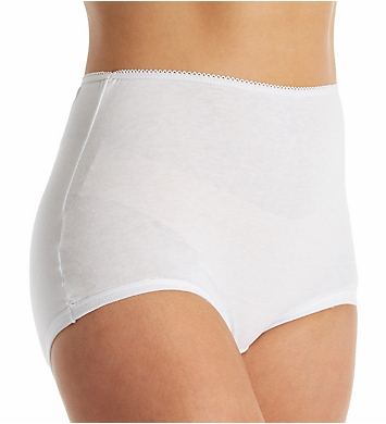 Teri Soft Legs Full Cut Cotton Brief - 3 Pack