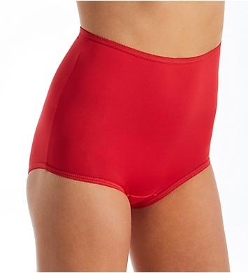 Teri Microfiber Full Cut Brief Panty - 3 Pack