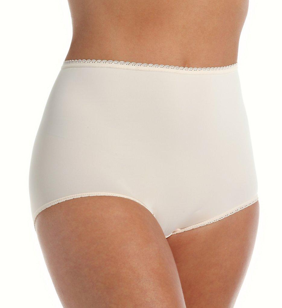 Teri 311 Marlene D Full Coverage Microfiber Panty (Beige)