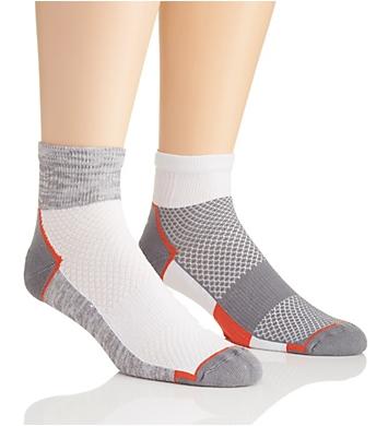 The Comfort Sock AriKool Quarter Socks - 2 Pack