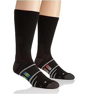The Comfort Sock Anti-Fatigue Crew Socks - 2 Pack