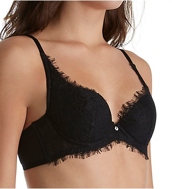 The Little Bra Company Ethel Petite Eyelash Lace Demi Cup Bra